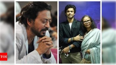 Sutapa Sikdar's emotional speech at IFFI, remembering late husband Irrfan Khan will touch your heart - Times of India