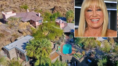 Suzanne Somers lists splashy Palm Springs home for $8.5M