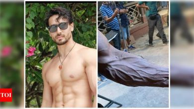 THIS jaw-dropping photo of John Abraham's hand leaves Tiger Shroff mighty impressed - Times of India