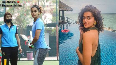 Taapsee Pannu starts training to lead Team 'Shabaash Mithu'