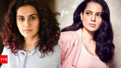 Taapsee Pannu's cryptic tweet on 'jealousy' after Kangana Ranaut latest attack - Times of India
