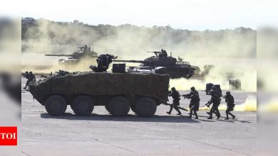 Taiwan military stages drill aimed at repelling China attack - Times of India