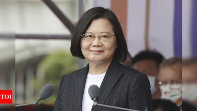 Taiwan says relations with US elevated to global partnership - Times of India