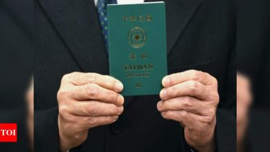 Taiwan's new passport hopes to banish confusion with China - Times of India
