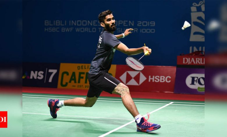 Thailand Open: Kidambi Srikanth beats Sourabh Verma, breezes into 2nd round | Badminton News - Times of India