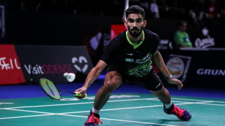 Kidambi Srikanth pulls out of Thailand Open due to calf injury. (Twitter Photo)