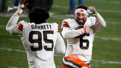 The Browns undid years of frustration in one blissful night