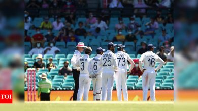 'This isn't the first time': Cricket fraternity condemns abuse from crowd during Sydney Test   Cricket News - Times of India