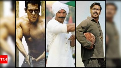 To clash or not to clash: That is the question facing Bollywood as big-ticket films gear up for theatres - Times of India