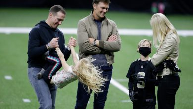 Tom Brady's touching TD pass to Drew Brees' son goes viral