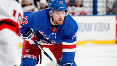 Top pick Alexis Lafreniere shifts to Rangers' first line