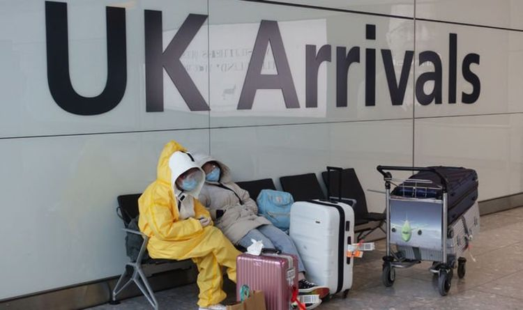 Travel chaos as Shapps delays coronavirus testing regime for UK arrivals amid huge backlas