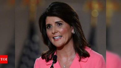 Trump's actions post-election will be 'judged harshly by history', says Nikki Haley - Times of India