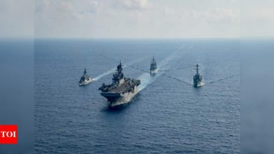 US military slams Chinese flights over South China Sea but says they posed no threat - Times of India