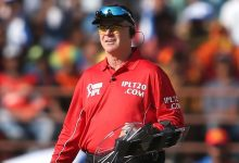 Umpire Bruce Oxenford calls time on 15-year international career