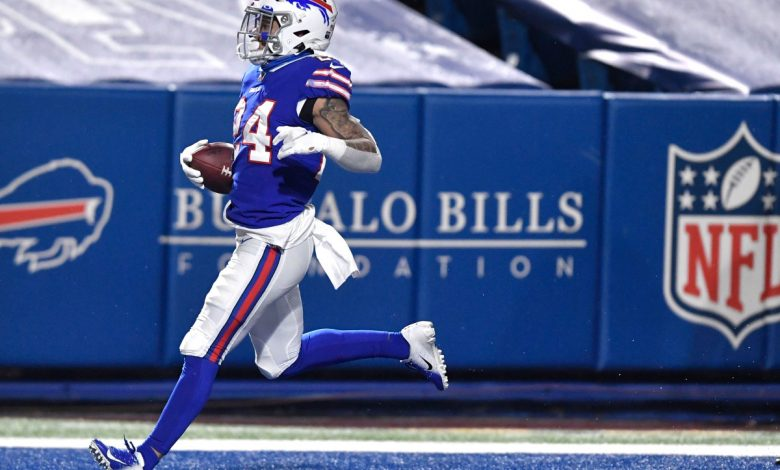 Unlikely hero Taron Johnson carries Bills to AFC title game