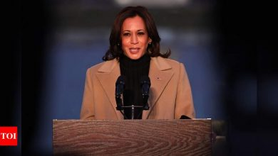 Vogue to release new Kamala Harris cover after controversy - Times of India