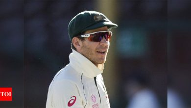Wanted to make sure that Indian boys knew we were against racial abuse too: Tim Paine   Cricket News - Times of India