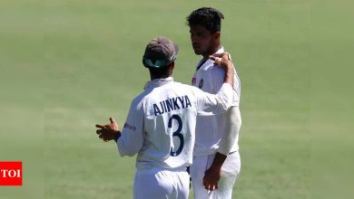 Washington was disciplined and filled Ashwin's shoes well: McDonald | Cricket News - Times of India