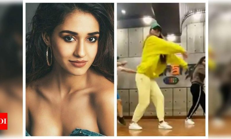 Watch: Disha Patani grooving to Saweetie's 'Tap In' is a treat for the sore eyes - Times of India
