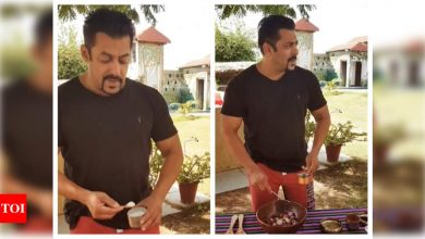Watch: Salman Khan's instant raw onion pickle recipe is a must-try! - Times of India