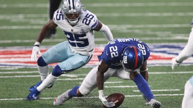 Wayne Gallman sorry for fumble 'drama' that nearly cost Giants