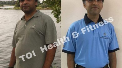 """Weight loss: """"I climbed 60 flights of stairs regularly and got in shape""""    The Times of India"""