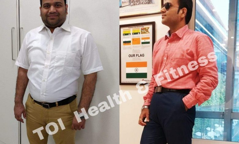 """Weight loss story: """"I follow a variation of Intermittent fasting which doesn't allow snacking""""    The Times of India"""