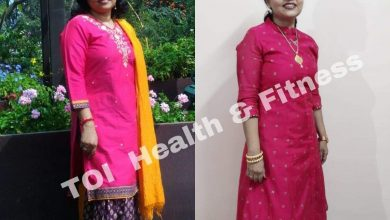 """Weight loss story: """"I walk 20,000 steps everyday and have achieved a healthy weight!""""    The Times of India"""