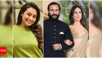 When Saif Ali Khan revealed Rani Mukerji's 'manly advice' to him on his relationship with Kareena Kapoor Khan - Times of India