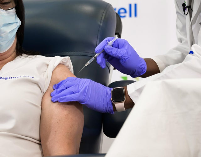 A vaccine queue calculator has now been created by Omnicalculator, to estimate when you could receive the vaccine (Picture: Shutterstock)