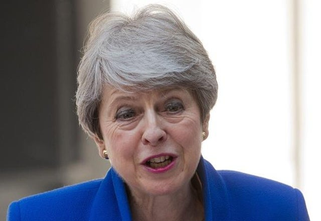 Theresa May has warned about the danger of populism following the attack on the US Capitol by a pro-Trump mob (Picture: Isabel Infantes/AFP via Getty Images)