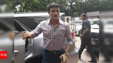 Wishes pour in from Indian cricket fraternity for Sourav Ganguly's speedy recovery | Cricket News - Times of India