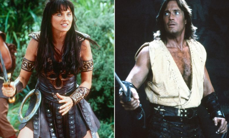 Xena is kicking Hercules' butt on Twitter over Capitol protests