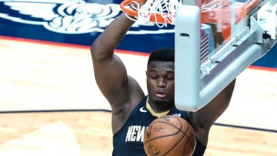 Zion Williamson pours in 32 points to lead Pelicans past Wizards