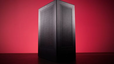 iBuyPower's compact Revolt 3 MK3 PC case packs in a handle and lots of ventilation
