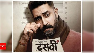 'Dasvi' first look: Abhishek Bachchan's look from Dinesh Vijan's next will get you all excited - Times of India