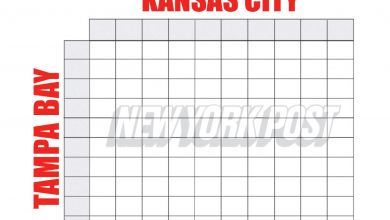 Super Bowl squares 2021: Printable boxes sheet for Buccaneers vs. Chiefs