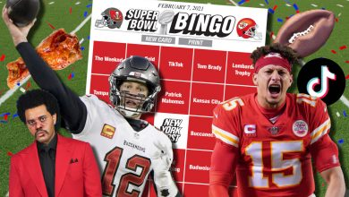 The Post's Super Bowl 2021 BINGO cards for Buccaneers vs. Chiefs