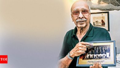 Meet the man who was part of India's first test win - Times of India