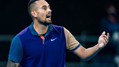Nick Kyrgios kicks team member's girlfriend out of Australian Open box