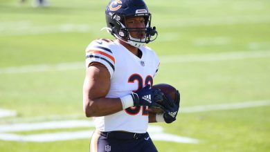 David Montgomery sends Bears fans into panic with cryptic tweet