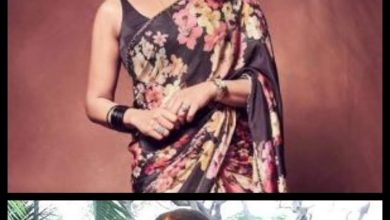 Actresses who cast a spell with a black saree