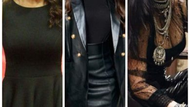 Actresses who sizzled in black outfits