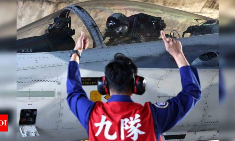 Taiwan scrambles air force again after Chinese exercises in South China Sea - Times of India
