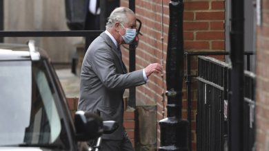 Prince Charles Visits 99-Year-Old Prince Philip in Hospital