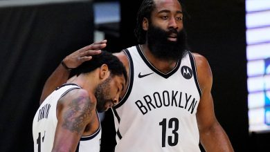 Nets' James Harden, DeAndre Jordan aiding storm-battered Houston