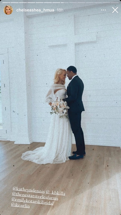 Southern Charm Kathryn Dennis and Chleb Ravenel Pose at a Chapel After Photo Shoot Proposal