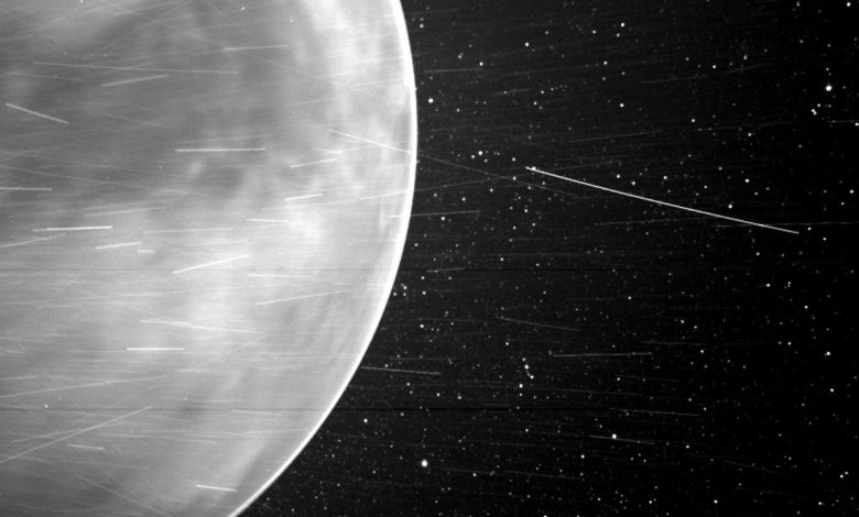 Rare glimpse of Venus in a new light captured by WISPR camera on NASA's Parker probe- Technology News, Firstpost