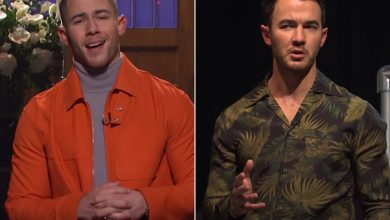 Nick Jonas jokes with brother Kevin about Jonas Brothers' future on 'SNL'